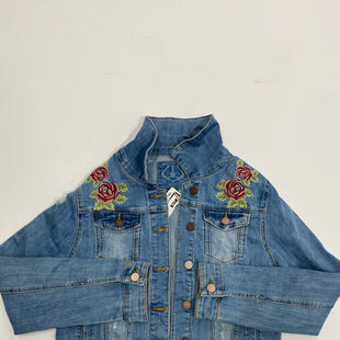 Primary Photo - BRAND:    CLOTHES MENTOR STYLE: JACKET OUTDOOR COLOR: DENIM SIZE: M SKU: 200-200199-5815