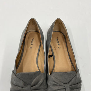 Primary Photo - BRAND: TORRID STYLE: SHOES FLATS COLOR: GREY SIZE: 7.5 SKU: 200-200202-1731