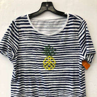 Primary Photo - BRAND: TALBOTS STYLE: TOP SHORT SLEEVE COLOR: STRIPED SIZE: M SKU: 200-200199-15456