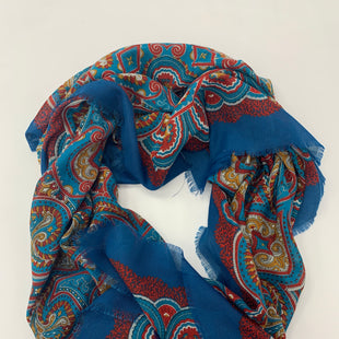 Primary Photo - BRAND:    CLOTHES MENTORSTYLE: SCARFCOLOR: BLUE REDSKU: 200-200194-2680
