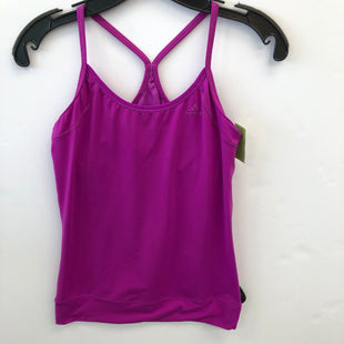 Primary Photo - BRAND: ADIDAS STYLE: ATHLETIC TANK TOP COLOR: PURPLE SIZE: S SKU: 200-200204-1136