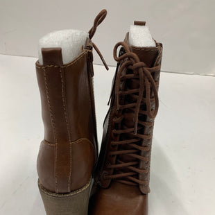 Primary Photo - BRAND: SODA STYLE: BOOTS ANKLE COLOR: BROWN SIZE: 6.5 SKU: 200-200202-5283