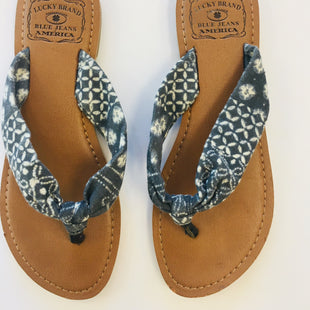 Primary Photo - BRAND: LUCKY BRANDSTYLE: FLIP FLOPSCOLOR: BLUESIZE: 7SKU: 200-200178-5388