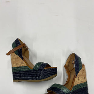 Primary Photo - BRAND: MOSSIMO STYLE: SANDALS HIGH COLOR: BLUE GREEN SIZE: 7 SKU: 200-200202-2927