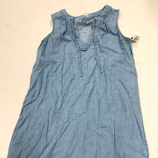 Primary Photo - BRAND: OLD NAVY STYLE: DRESS SHORT SLEEVELESS COLOR: DENIM SIZE: XS SKU: 200-200199-8355