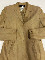 Photo #1 - BRAND:    CLOTHES MENTOR <BR>STYLE: COAT LONG <BR>COLOR: KHAKI <BR>SIZE: M <BR>SKU: 200-200199-12003
