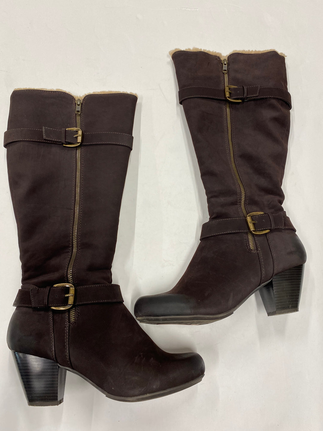 Primary Photo - BRAND: RIALTO <BR>STYLE: BOOTS KNEE <BR>COLOR: BROWN <BR>SIZE: 9 <BR>SKU: 200-200201-319