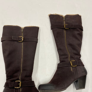 Primary Photo - BRAND: RIALTO STYLE: BOOTS KNEE COLOR: BROWN SIZE: 9 SKU: 200-200201-319