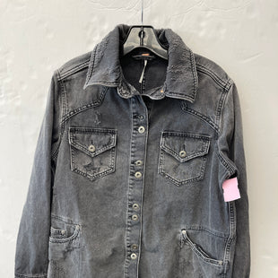 Primary Photo - BRAND: FREE PEOPLE STYLE: JACKET OUTDOOR COLOR: DENIM SIZE: XS SKU: 200-200199-22360