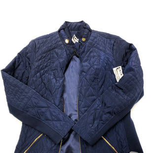 Primary Photo - BRAND: PECK AND PECK STYLE: COAT SHORT COLOR: NAVY SIZE: S SKU: 200-200178-23924