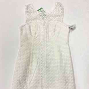 Primary Photo - BRAND: LILLY PULITZER STYLE: DRESS SHORT SLEEVELESS COLOR: WHITE SIZE: 0 SKU: 200-200197-36707