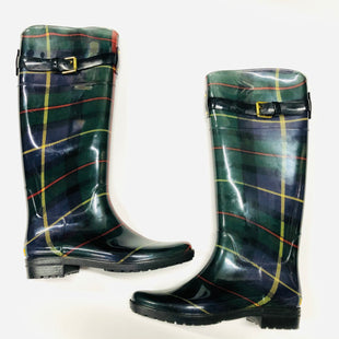 Primary Photo - BRAND: RALPH LAUREN STYLE: BOOTS RAIN COLOR: GREEN SIZE: 8 OTHER INFO: PLAID SKU: 200-200204-1461