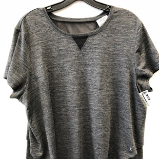 Primary Photo - BRAND: DANSKIN STYLE: ATHLETIC TOP COLOR: GREY SIZE: XXL SKU: 200-200199-19642