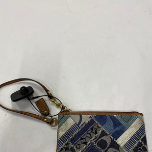 Primary Photo - BRAND: COACH STYLE: WRISTLET COLOR: DENIM SKU: 200-200178-20785