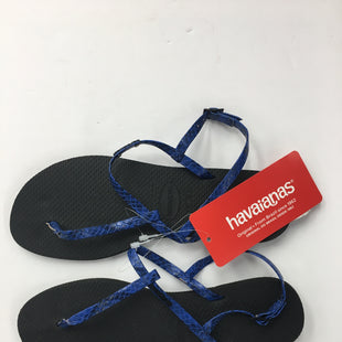 Primary Photo - BRAND: HAVAIANAS STYLE: SANDALS FLAT COLOR: BLUE SIZE: 7.5 SKU: 200-200197-33296