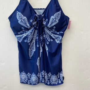Primary Photo - BRAND:    CLOTHES MENTOR STYLE: SWIMSUIT COLOR: BLUE SIZE: XXXL SKU: 200-200199-22368