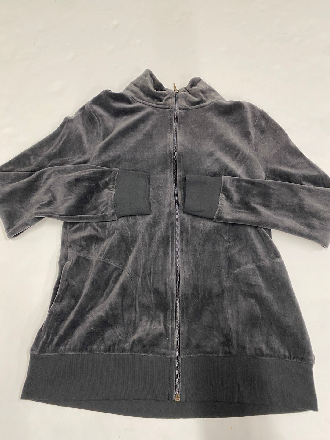 Primary Photo - BRAND: HANES <BR>STYLE: JACKET OUTDOOR <BR>COLOR: CHARCOAL <BR>SIZE: M <BR>SKU: 200-200178-23691