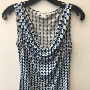 Primary Photo - BRAND: LIZ CLAIBORNE STYLE: TOP SLEEVELESS COLOR: BLUE SIZE: S SKU: 200-200199-22243