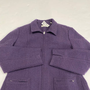 Primary Photo - BRAND: COLDWATER CREEK STYLE: JACKET OUTDOOR COLOR: PURPLE SIZE: L SKU: 200-200199-11491