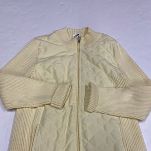 Primary Photo - BRAND: CROFT AND BARROW STYLE: JACKET OUTDOOR COLOR: YELLOW SIZE: XL SKU: 200-200199-10604