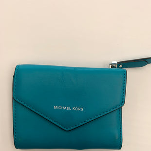 Primary Photo - BRAND: MICHAEL KORS STYLE: WALLET COLOR: TURQUOISE SIZE: SMALL SKU: 200-200194-4279