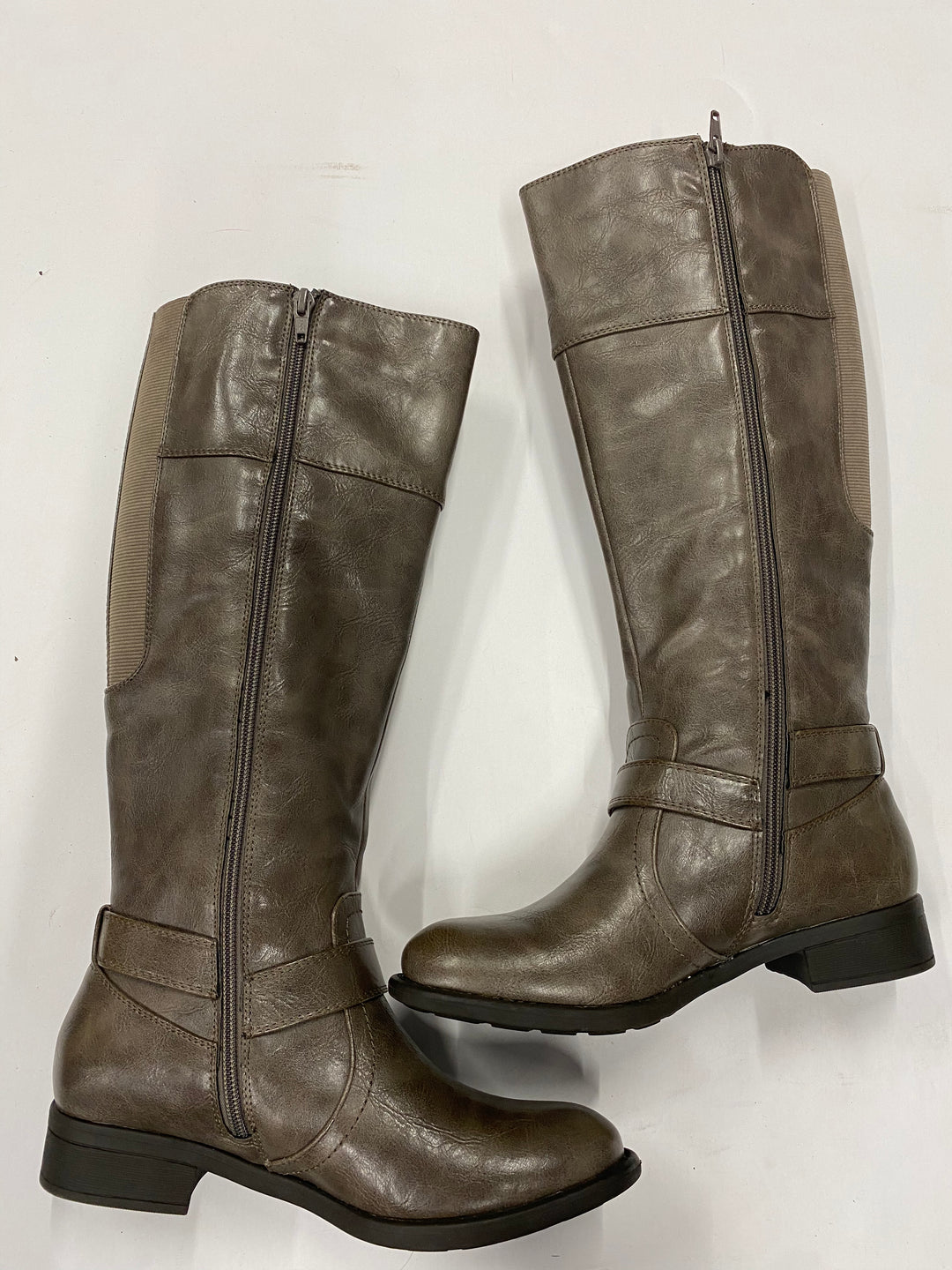 Photo #1 - BRAND:    CLOTHES MENTOR <BR>STYLE: BOOTS KNEE <BR>COLOR: BROWN <BR>SIZE: 6.5 <BR>SKU: 200-200199-11851