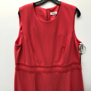 Primary Photo - BRAND: CALVIN KLEIN STYLE: DRESS SHORT SLEEVELESS COLOR: PINK SIZE: 20 SKU: 200-200199-18364