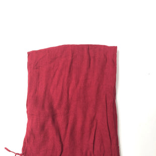 Primary Photo - BRAND:    CLOTHES MENTOR STYLE: SCARF COLOR: RED SKU: 200-200178-21530