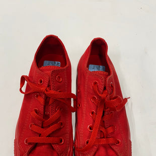 Primary Photo - BRAND: CONVERSE STYLE: SHOES ATHLETIC COLOR: RED SIZE: 6 SKU: 200-200199-13872