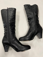Primary Photo - BRAND: PIERRE DUMAS <BR>STYLE: BOOTS KNEE <BR>COLOR: BLACK <BR>SIZE: 10 <BR>SKU: 200-200178-13567