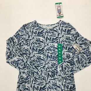 Primary Photo - BRAND: HANG TEN STYLE: ATHLETIC TOP COLOR: BLUE WHITE SIZE: XL SKU: 200-200178-25727