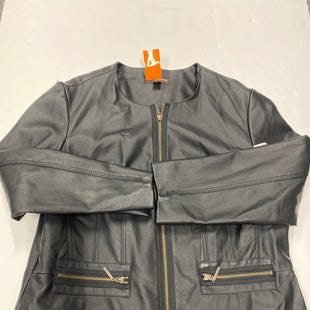 Primary Photo - BRAND: DANA BUCHMAN STYLE: JACKET OUTDOOR COLOR: BLACK SIZE: L SKU: 200-200178-25280