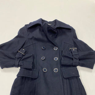 Primary Photo - BRAND: EXPRESS STYLE: COAT LONG COLOR: NAVY SIZE: XS SKU: 200-200178-23836