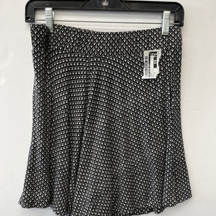 Primary Photo - BRAND: ANN TAYLOR LOFT STYLE: SKIRT COLOR: BLACK WHITE SIZE: XS SKU: 200-200192-7738