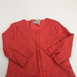 Primary Photo - BRAND: REBECCA MALONE STYLE: JACKET OUTDOOR COLOR: CORAL SIZE: S SKU: 200-200178-14823
