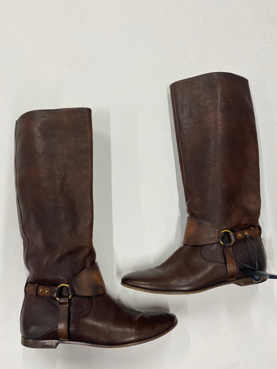Primary Photo - BRAND: GUCCI <BR>STYLE: BOOTS KNEE <BR>COLOR: BROWN <BR>SIZE: 7 <BR>SKU: 200-200178-24131R