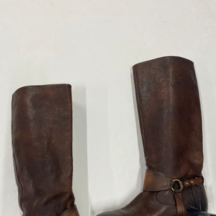 Primary Photo - BRAND: GUCCI STYLE: BOOTS KNEE COLOR: BROWN SIZE: 7 SKU: 200-200178-24131R