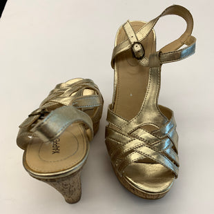 Primary Photo - BRAND: XAPPEAL STYLE: SANDALS HIGH COLOR: GOLD SIZE: 8.5 SKU: 200-200178-8557