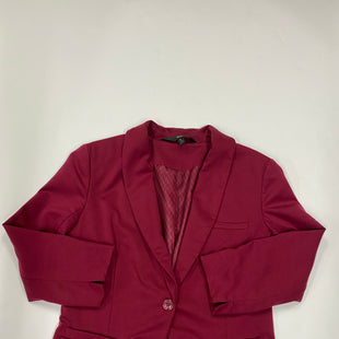 Primary Photo - BRAND: MOSSIMO STYLE: BLAZER JACKET COLOR: MAROON SIZE: L SKU: 200-20012-8711