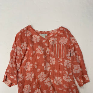 Primary Photo - BRAND: CHRISTOPHER AND BANKS STYLE: TOP LONG SLEEVE COLOR: CORAL SIZE: S SKU: 200-200194-8323