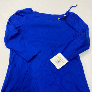 Primary Photo - BRAND: ELLEN TRACY STYLE: TOP LONG SLEEVE COLOR: BLUE SIZE: M SKU: 200-200178-25820