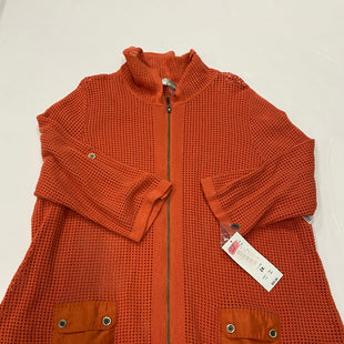 Primary Photo - BRAND: ALLISON DALEY STYLE: SWEATER CARDIGAN LIGHTWEIGHT COLOR: ORANGE SIZE: 2X SKU: 200-200202-554