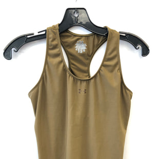 Primary Photo - BRAND: UNDER ARMOUR STYLE: ATHLETIC TANK TOP COLOR: OLIVE SIZE: M SKU: 200-200178-28011