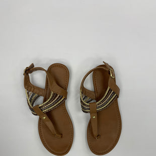 Primary Photo - BRAND: AMERICAN EAGLE STYLE: SANDALS FLAT COLOR: BROWN SIZE: 6.5 SKU: 200-200199-3464