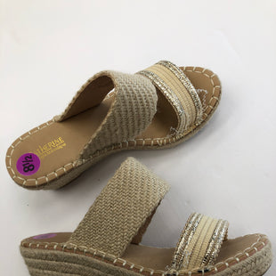 Primary Photo - BRAND:    CLOTHES MENTOR STYLE: SANDALS LOW COLOR: SHINY SIZE: 8.5 SKU: 200-200199-18237