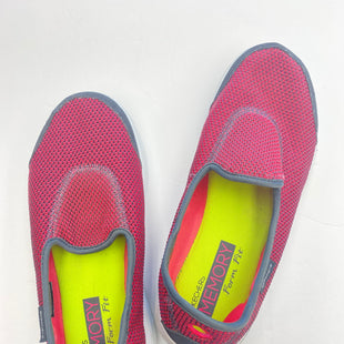 Primary Photo - BRAND: SKECHERS STYLE: SHOES FLATS COLOR: PINKBLACK SIZE: 8.5 SKU: 200-200199-18751