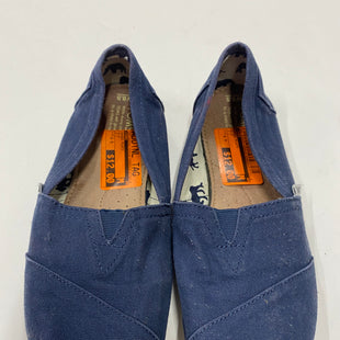 Primary Photo - BRAND: TOMS STYLE: SHOES FLATS COLOR: BLUE SIZE: 8.5 SKU: 200-200202-4005