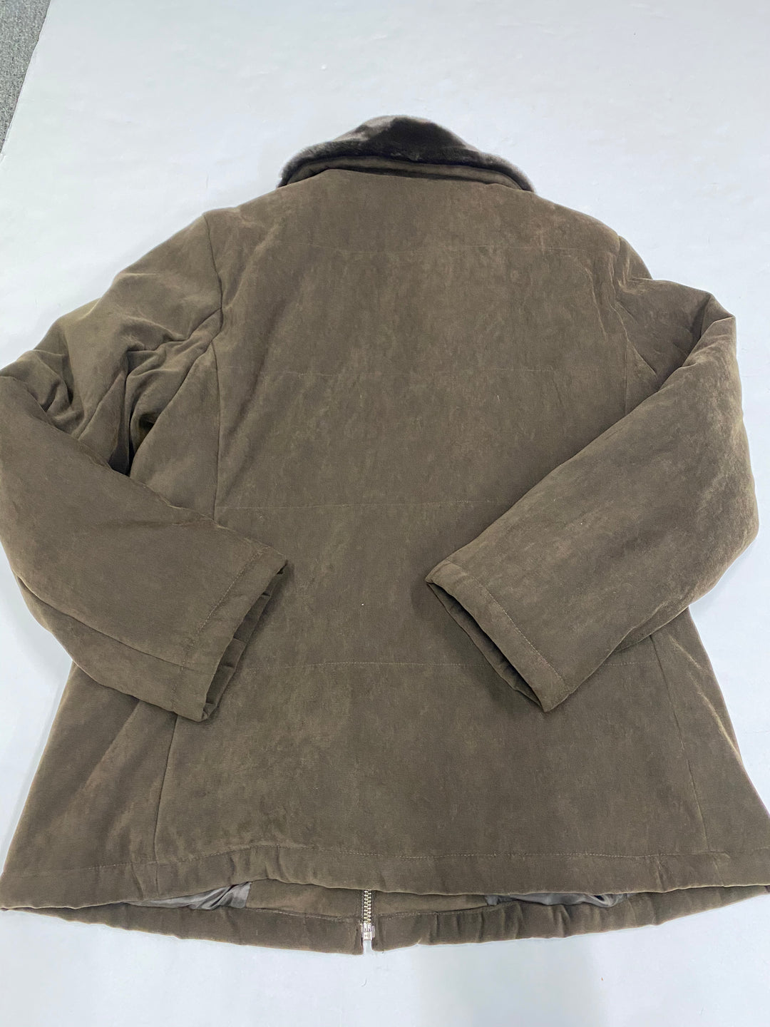 Photo #1 - BRAND: JONES NEW YORK <BR>STYLE: COAT SHORT <BR>COLOR: BROWN <BR>SIZE: M <BR>SKU: 200-200202-2729