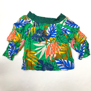 Primary Photo - BRAND: JEALOUS TOMATO STYLE: TOP LONG SLEEVE COLOR: TROPICAL SIZE: S SKU: 200-200194-7434