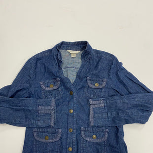 Primary Photo - BRAND: CHRISTOPHER AND BANKS STYLE: JACKET OUTDOOR COLOR: DENIM SIZE: M SKU: 200-200197-35862